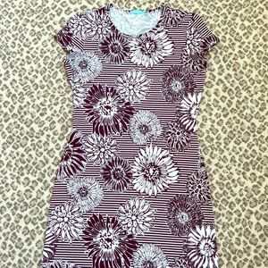 Adorable cotton tshirt dress from J MCGLAUGHLIN xs